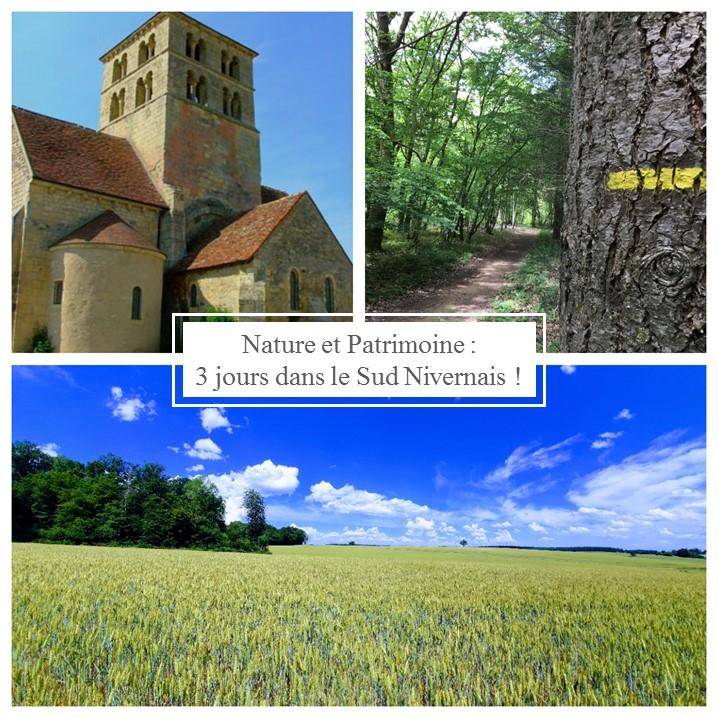 Idée séjour : Nature et Patrimoine